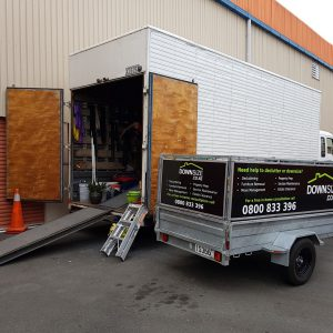 DownSize Trailer with Truck